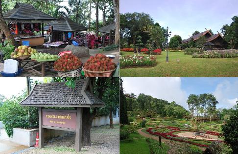 Royal Development Project Doi Tung, Project Center, Tourist Attractions