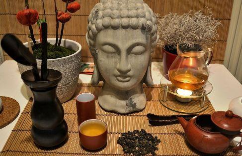 DMS Si Ji Chung Four Seasons Oolong Tee mit Buddha
