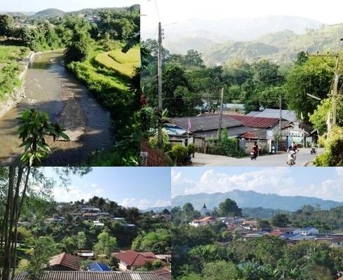 Ban Therd Thai - town