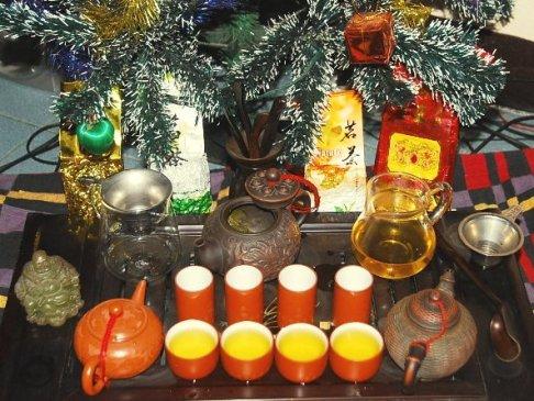 Family Christmas Tea Tree, Chiang Mai 2013