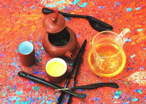 Khao Hom Thai Rice Tea from Doi Mae Salong, Nordthailand