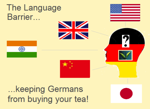 The Language Barrier - Key To The Best Tea Market Worldwide
