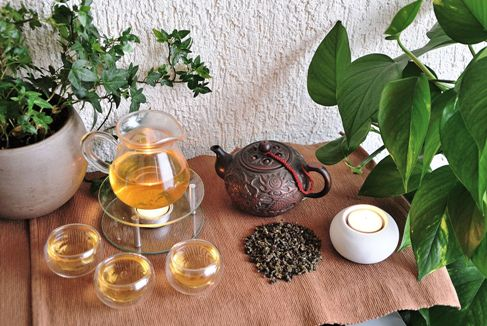 Oriental Beauty Oolong Tea from Thailand