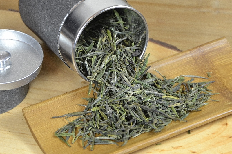 Zi Sun Cha Green Tea - single variety, single garden, single picking period