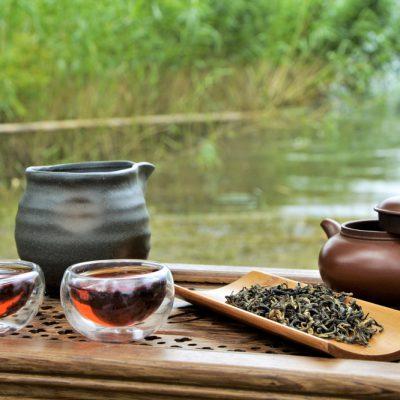 Tea at Camping Schachenhorn, Lake Constance, 2016